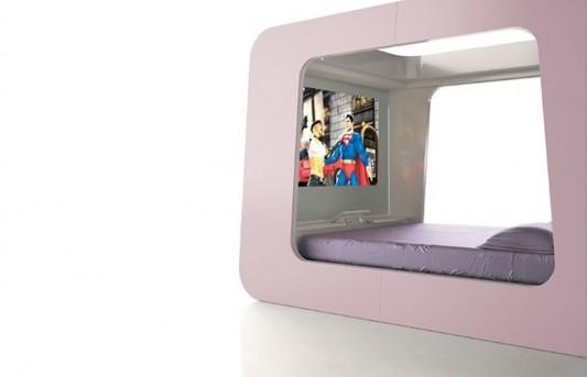 hi-tech canopy bed design ideas