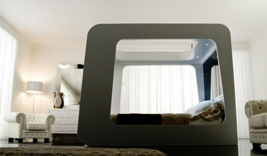 high technology canopy bed design