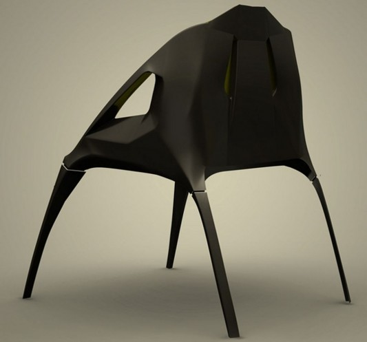 hodie minimalist chair by Darko Markovic
