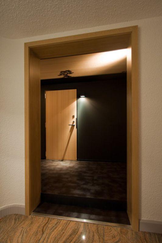 hotel nuts interior design door
