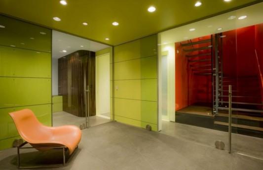 hover house minimalist house interior lighting ideas