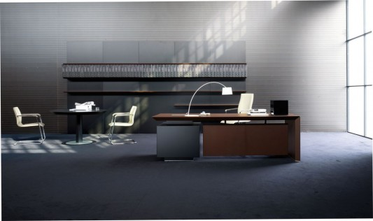 CEO Executive Office with Modern Interior Design Concept Multipli
