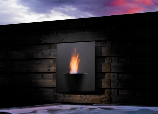 Fireplace as a home decoration home design inspiration for Indoor fire decoration