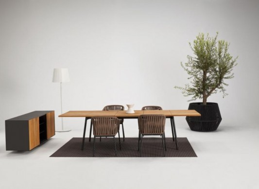 kettal bitta minimalist dining room furniture set