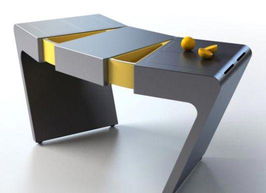Folding kitchen table ideas accordion by olga kalugin home design kitchen folding table ideas workwithnaturefo