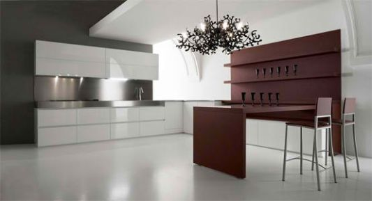 kitchen wood frame structure