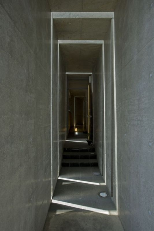 lane design of the slit house