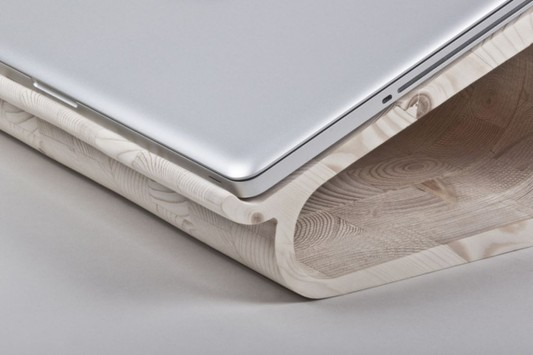 laptop stand design by Lesha Galkin for Dupludo Collective