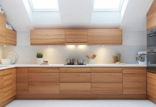 kitchen design wood. loft kitchen decorating with modern minimalist style design wood