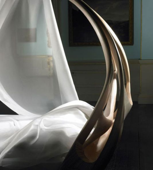 luxurious classic bed, enignum by joseph walsh studio