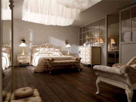 luxurious classical bedroom decorating ideas