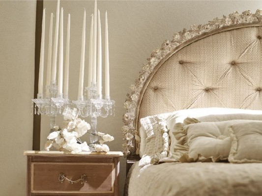 luxurious double bed classical design