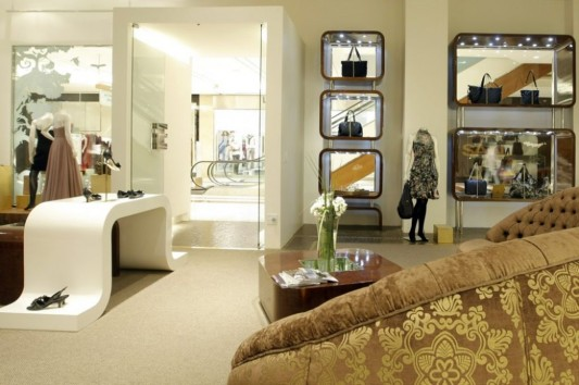 luxurious interior shop high class customers