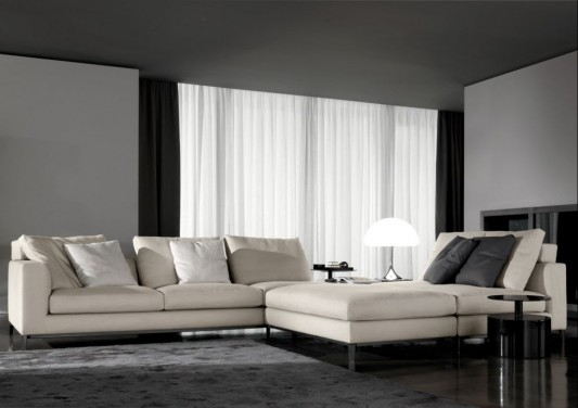 Luxurious Living Room Concept With Andersen Sofa And Sofa Bed