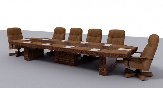 luxurious office meeting furniture conceptual design