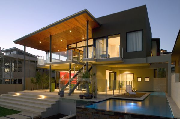 luxury house exterior design