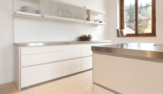Minimalist White Kitchen Ideas, Simplicity by Bulthaup - Home Design ...