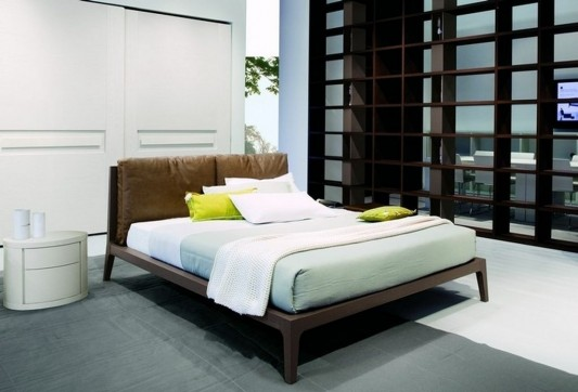minimalist traditional double bed design ideas