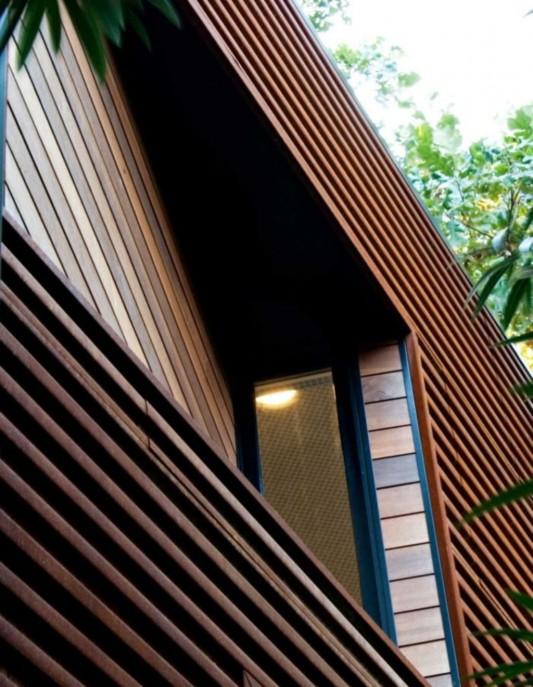 Minimalist Wooden House Concept Eva Street Residence By Chris Cobb