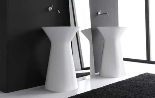 mister freestanding washbasin design by hidra