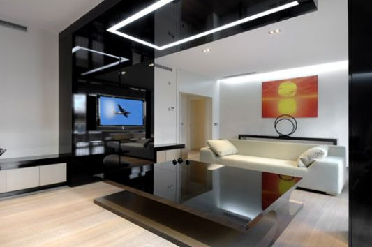 modern and luxurious apartment interior 2