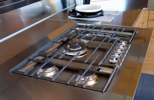 modern and practical kitchen stove design