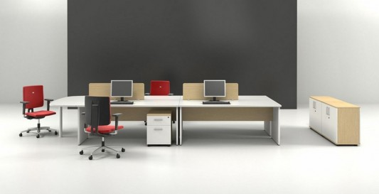 modern and stylish office furniture set