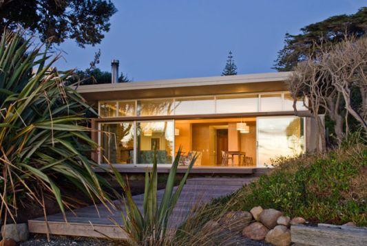 Raumati Beach House – Modern Beach House Design By Herriot ...