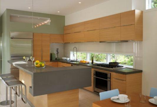 modern beach house in fire island  kitchen design