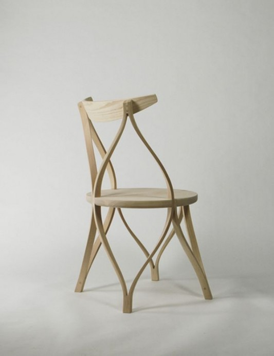 modern bentwood chair with classic technique
