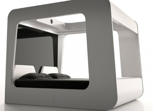 modern canopy bed design ideas