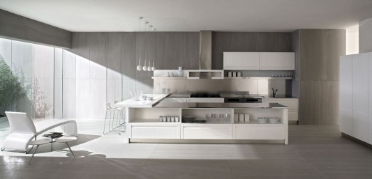 modern classical kitchen design by Ged cucine