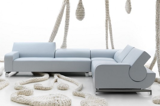 Modern Comfortable Flat Sofas Design with Flexible Backrest, by ...