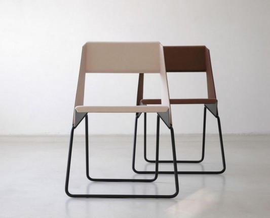 Minimalist Modern Aluminum Chairs Stylish and Unique Design Luc by