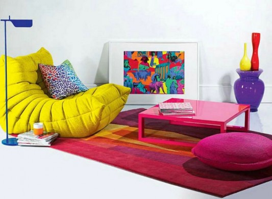 modern contemporary colored rugs for living room