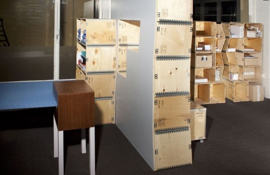 modern contemporary modular office shelving storage