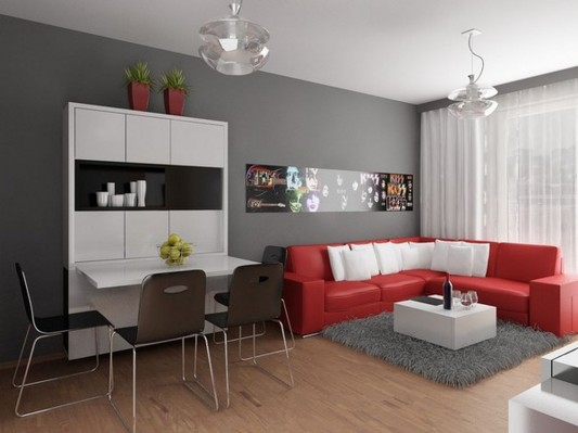 Ultra-Small Apartment with Modern Interior Design Ideas by ...