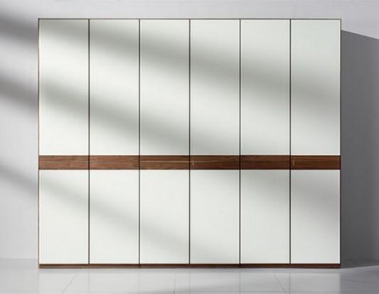 modern contemporary solid wood wardrobes folding door design