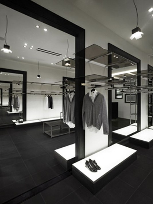 modern fashion shop interior ideas