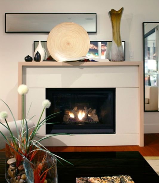 Modern Fireplace Storage For Contemporary Living Room Decor