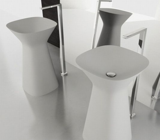 modern freestanding washbasin by hidra