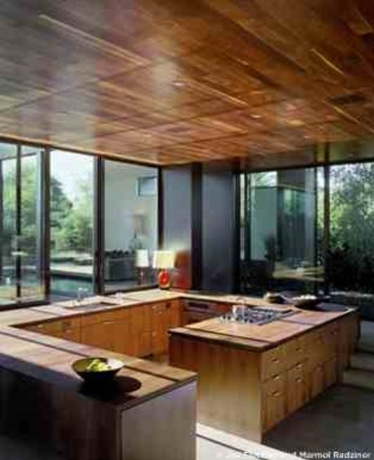 modern home vienna way residence classic kitche with wood kitchen set