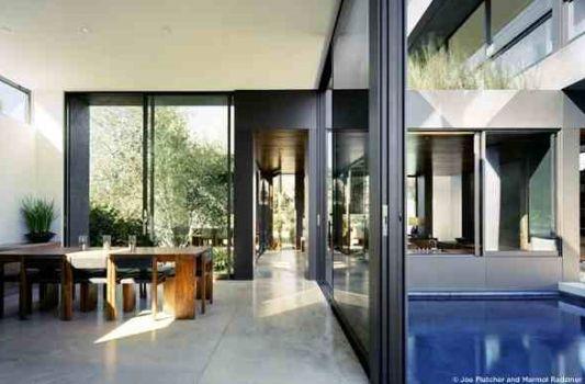 modern home vienna way residence dining room