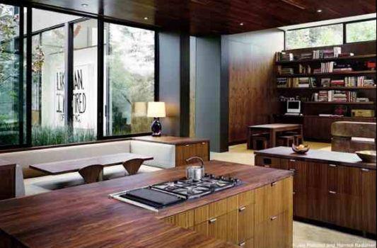 modern home vienna way residence kitchen design