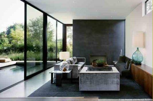 modern home vienna way residence living room