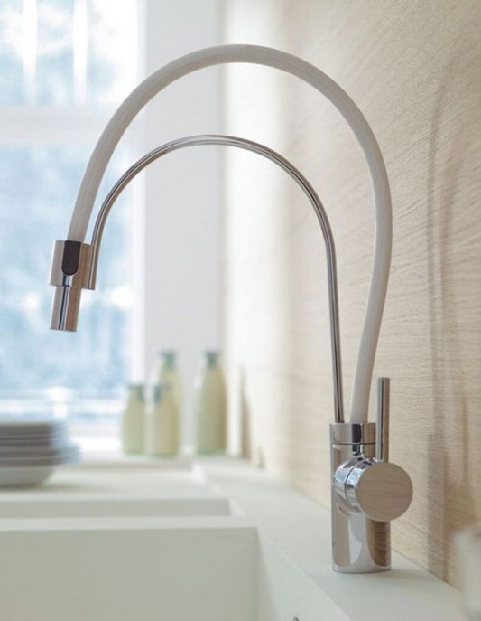 modern innovative my style kitchen faucet design from Esprit by Kludi