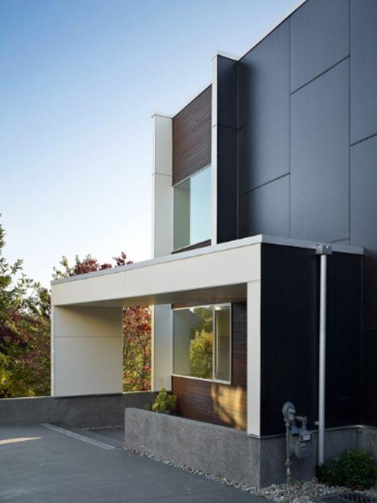 The Backyard House Extraordinary Modern Minimalist Home concept by ...