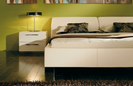 modern minimalist leather beds elegant design