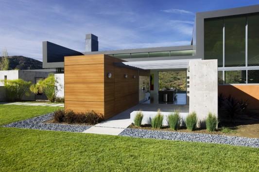 modern minimalist lima residence exterior design
