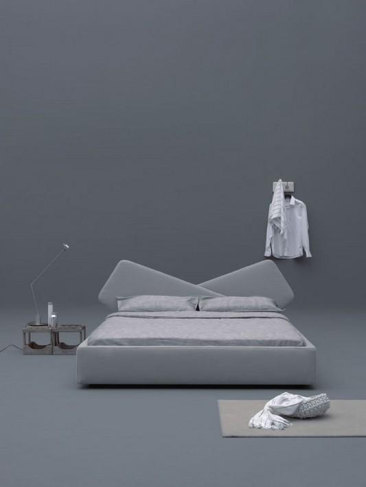 modern minimalist ribbon comfortable bed product